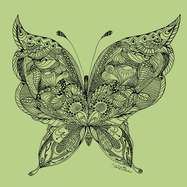 Motýl rajské zahrady