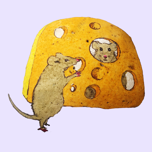 Myši mají pré