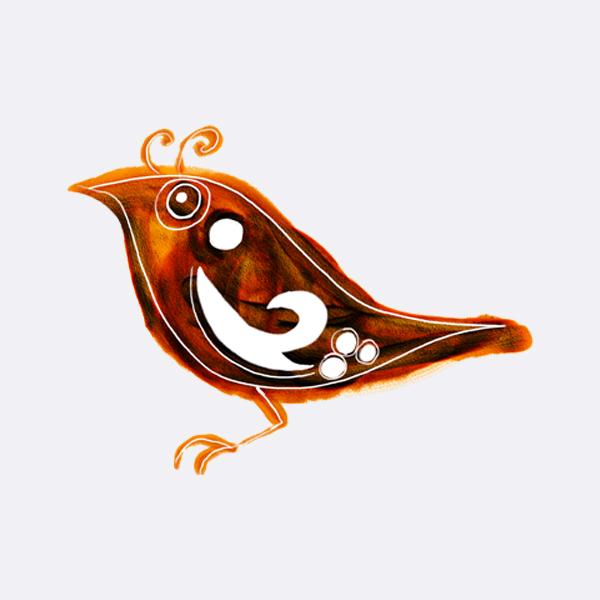 Folklórní ptáček zpěváček