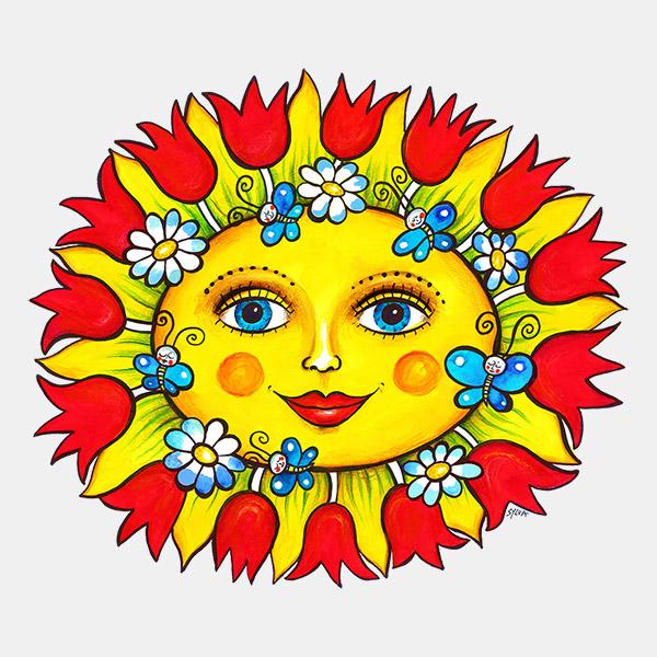 Jarní sluníčko