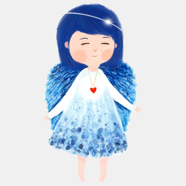 Andělka tančící