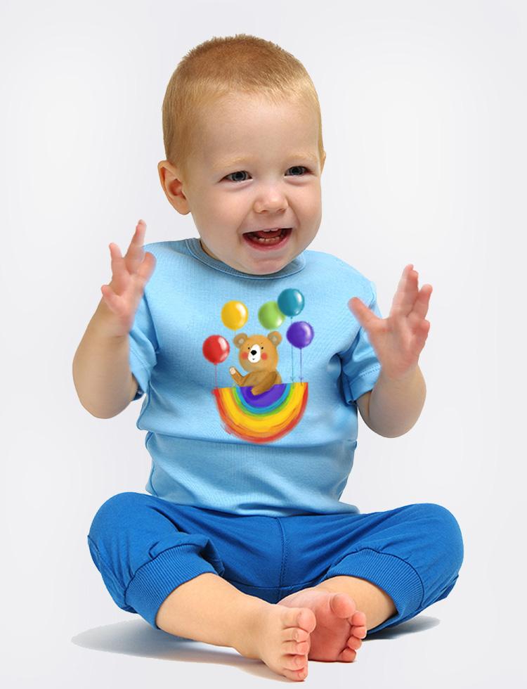 Baby tričko MEDVÍDEK SNÍLEK