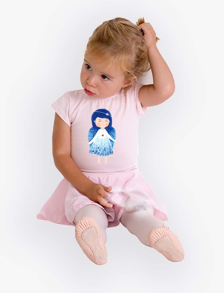 Baby tričko Andělka nebeská