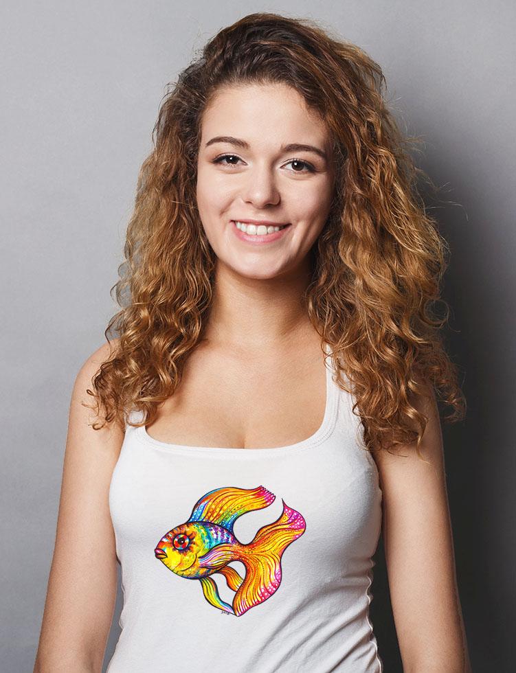 Zlatá rybka, tílko