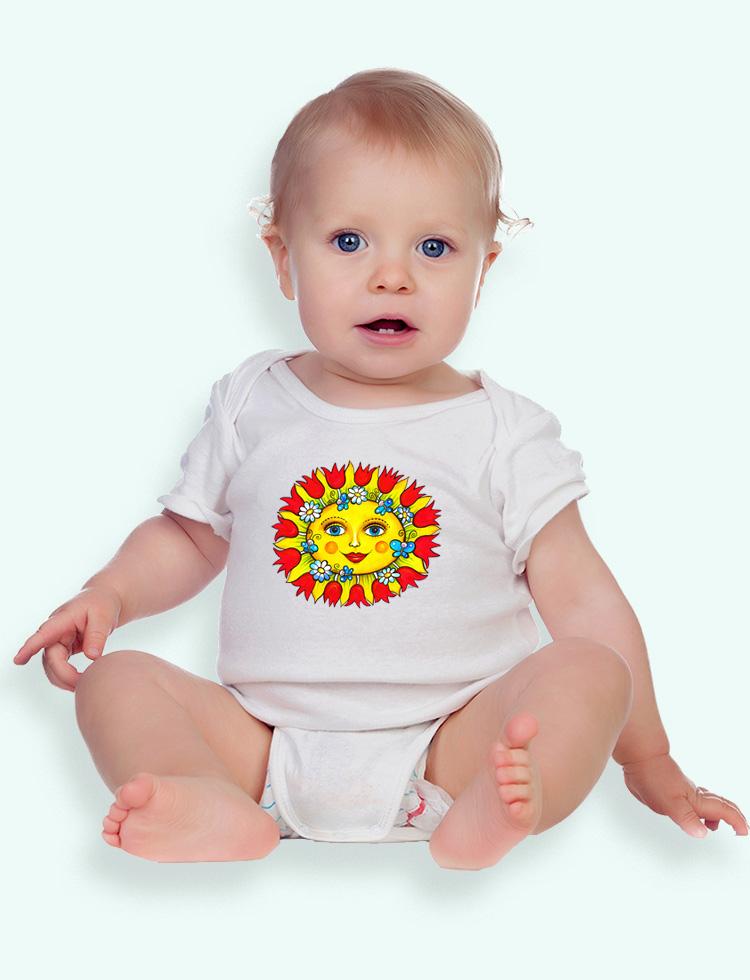 Baby tričko JARNÍ SLUNÍČKO